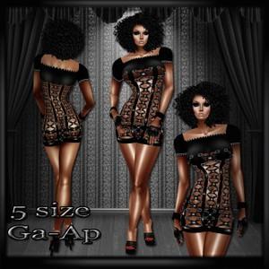 xcloset dress GA-AP