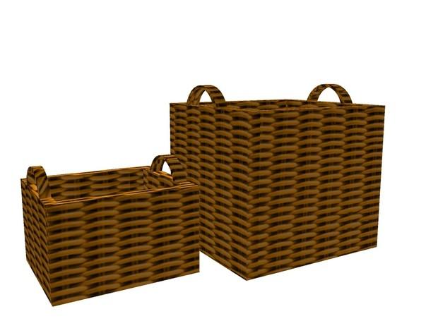2 Baskets Mesh