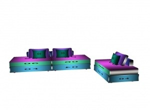 Sofa group mesh