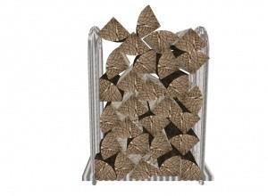 Wood pile mesh