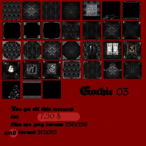 Gothic3 Room Textures