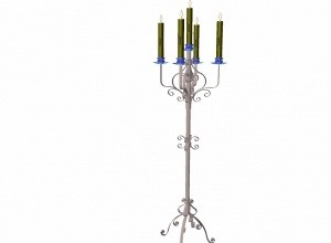 Gothic-Candlestand mesh