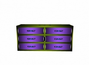 Chest with drawer mesh