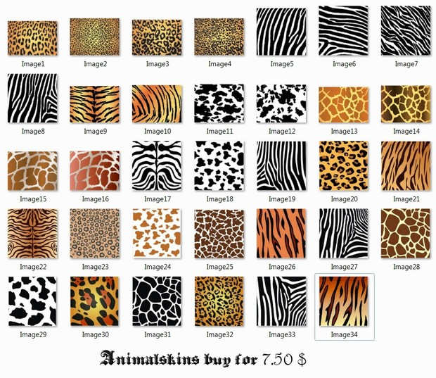 Textures Animalskins