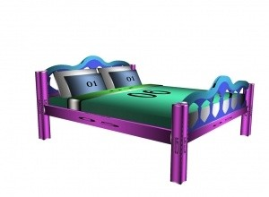Master Bed MESH