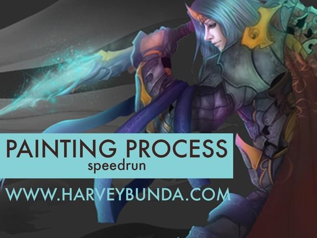 Painting Process - Speed Run