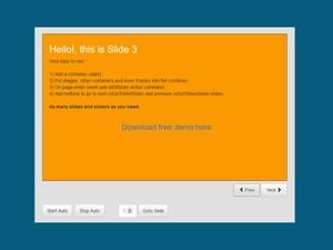 Content Slider. NeoAppBuilder Plugin
