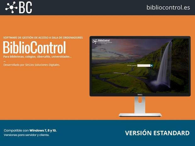 BiblioControl Versión Estandard