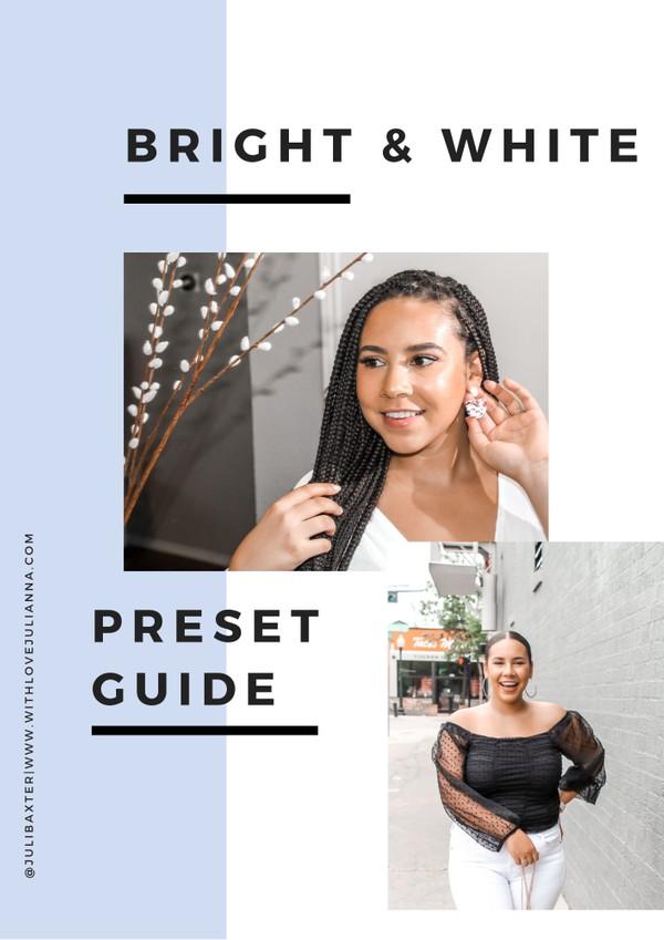Bright & White Preset