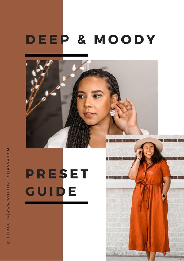 Deep & Moody Preset