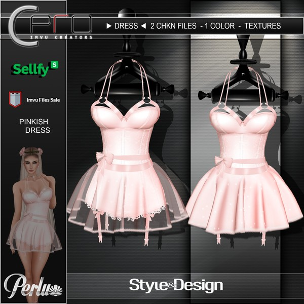 ►PINKISH DRESS◄