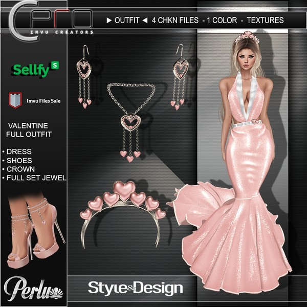 ►VALENTINE FULL OUTFIT◄