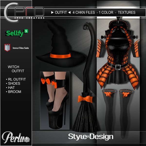 ►WITCH OUTFIT◄
