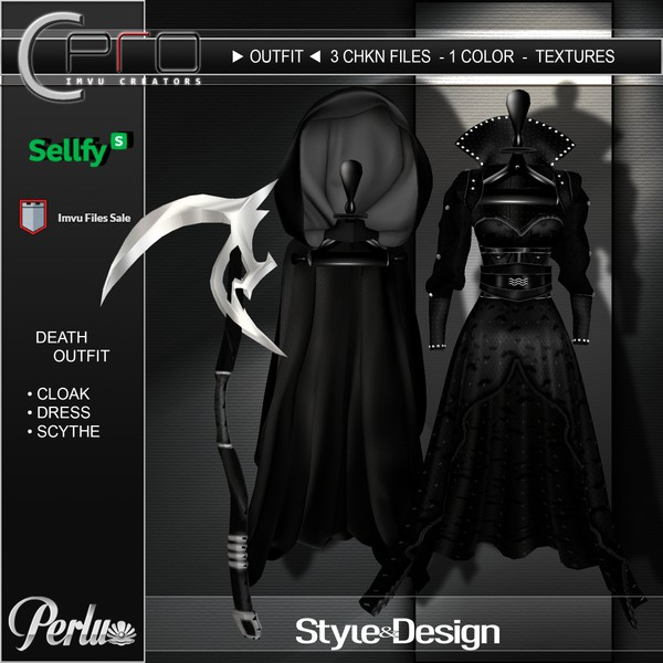 ►DEATH OUTFIT◄