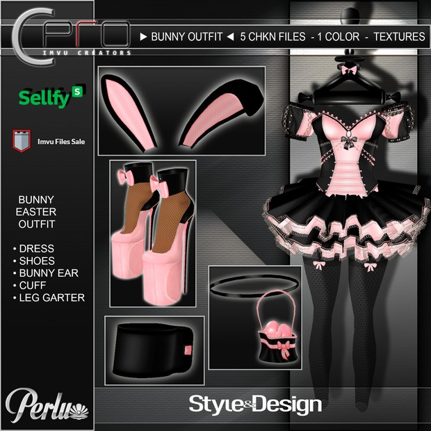 ►EASTER BUNNY 08 OUTFIT◄