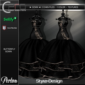 ►BUTTERFLY GOWN◄