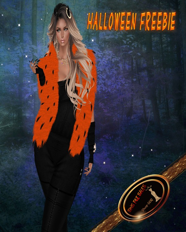 Halloween Freebie•Womans Shrug*CHKN File