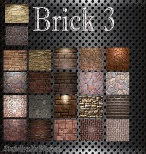 Brick Pack 3 (22 files)