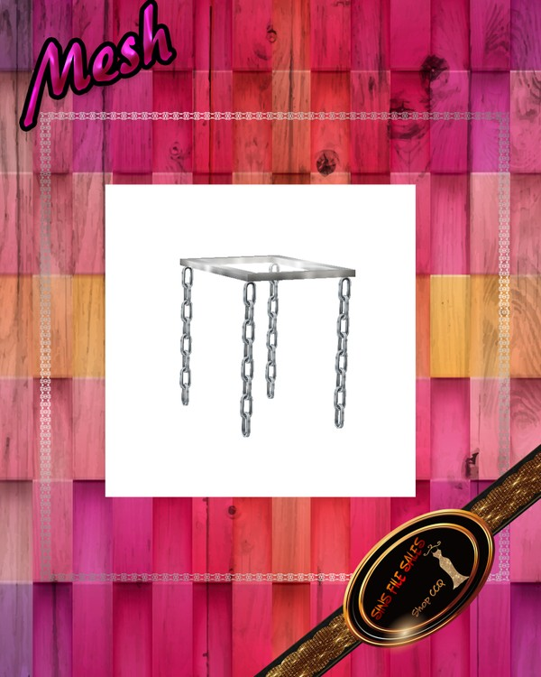 •Chain End Table Mesh•CHKN