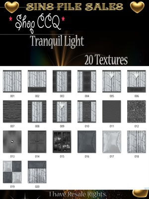 Tranquil Light Texture Pack