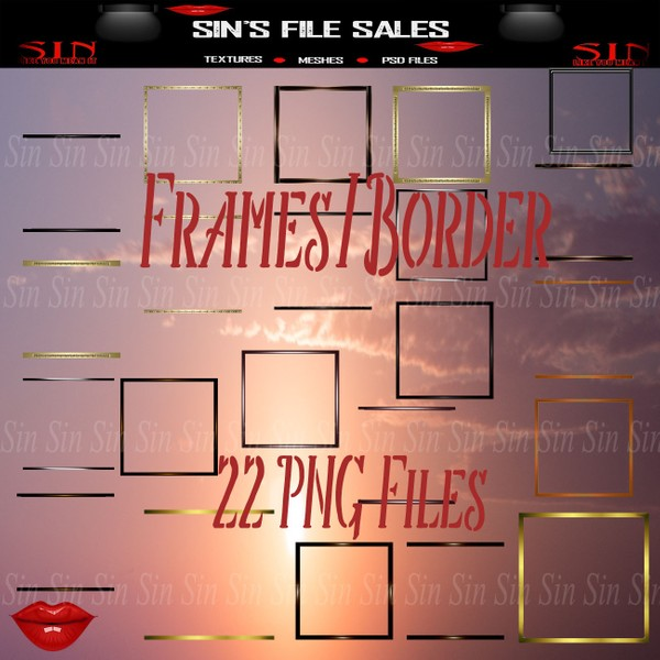 Frame / Border Pack *Png Files