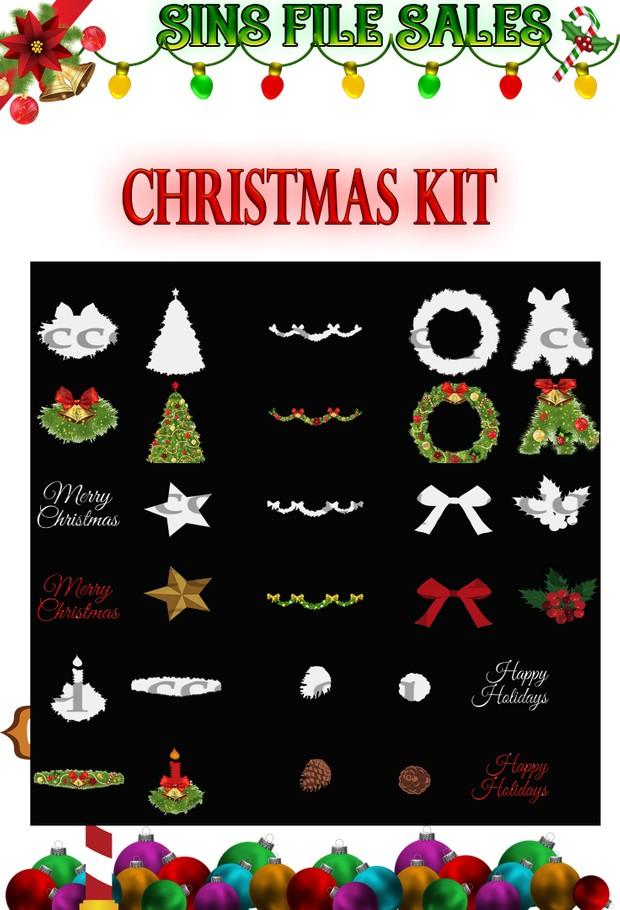Christmas Kit *30 Files