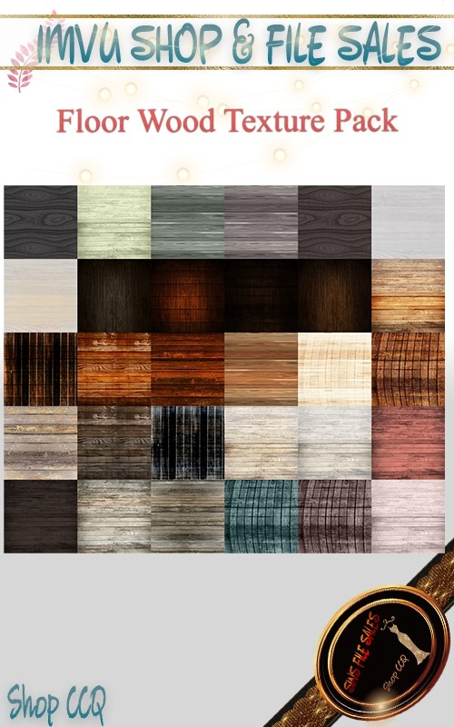 Wood Flooring Texture Set- 30 Files
