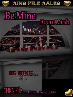 Be Mine Room Mesh