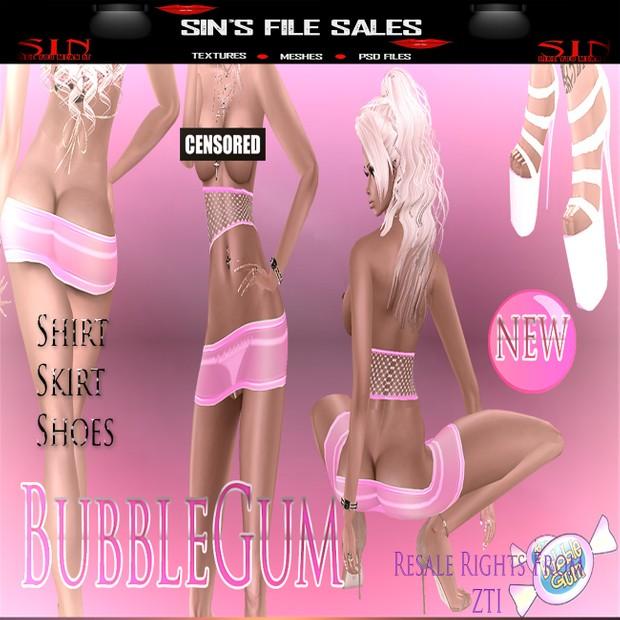 BubbleGum Bundle *Shirt/Heels/Shirt
