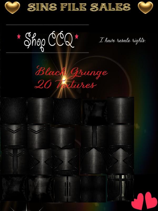 Black Grunge Texture Pack