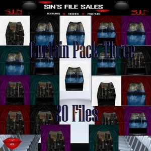 Curtain Pack Three