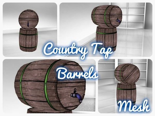 Country Bar Barrels