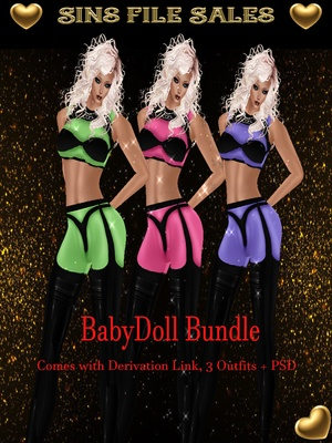 Baby Doll Outfit Bundle ♥