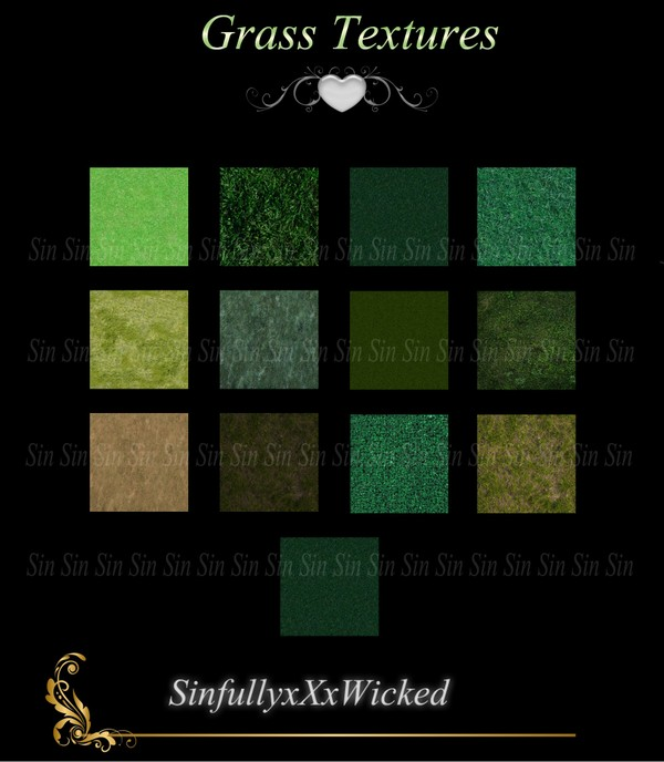 Grass Textures ( 15 Textures)