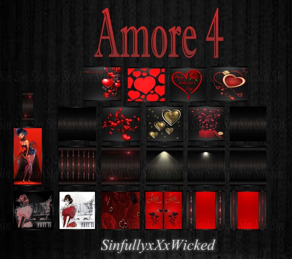 Amore 4 (22 Textures)