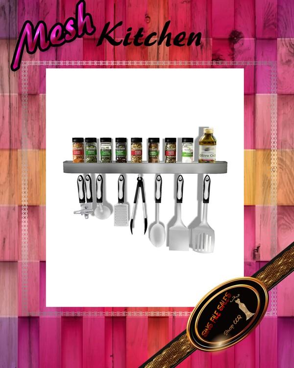 •Kitchen Spice/Utensils Mesh•CHKN File