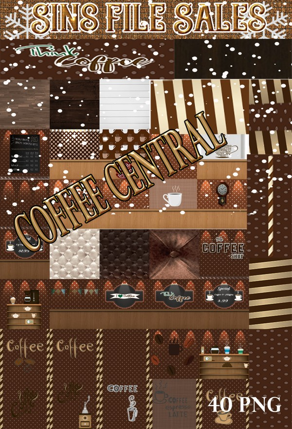 Coffee Central Texture Pack