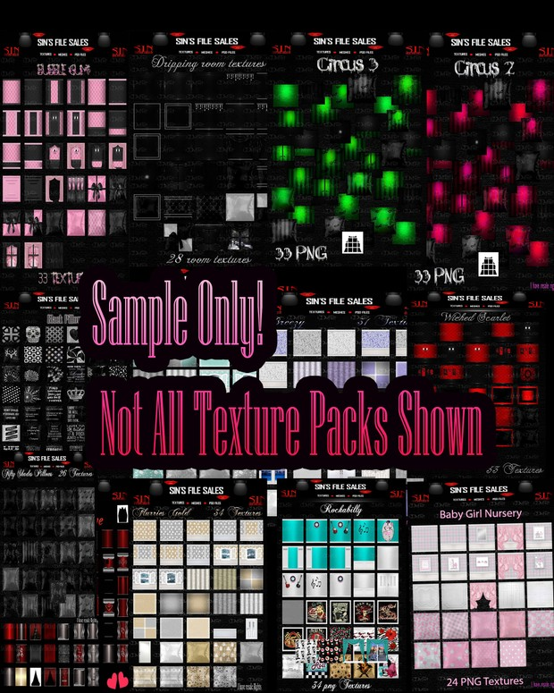 Winter Texture Pack Bundle ❄ Over 100 Plus Texture Packs