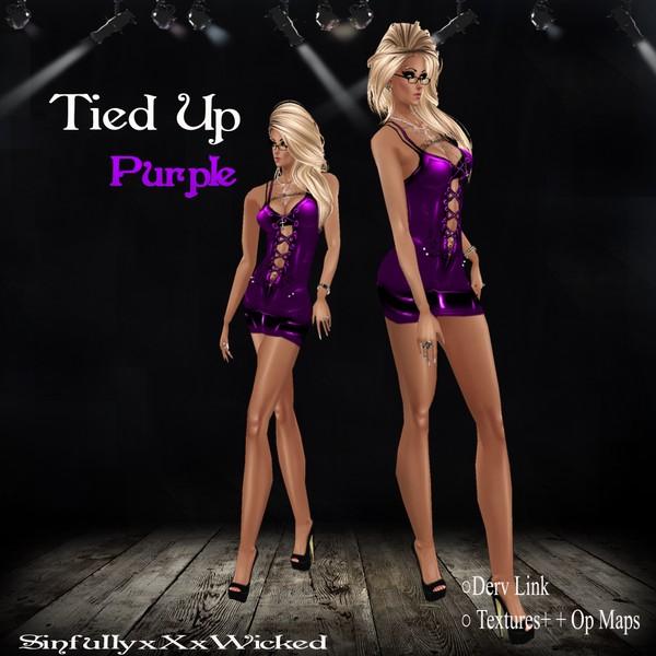 Tied Up (Purple)