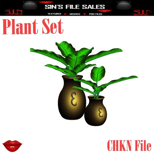 Plant Set*Mesh