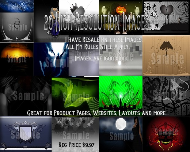 20 High Resolution Images For Background/Layout/Product Pages/Website/Blogs
