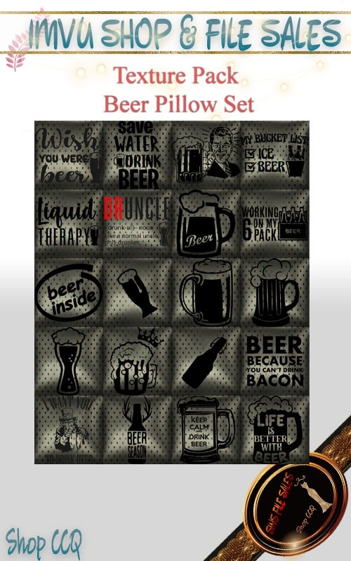 Beer Pillow Texture Pack