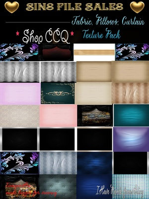 Fabric,Pillows, Curtain Texture Pack