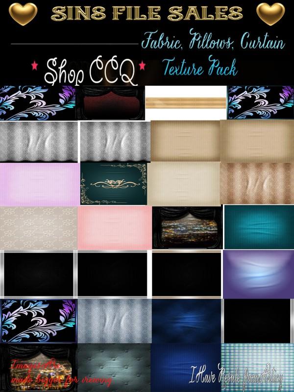 Fabric,Pillows, Curtain Texture Pack
