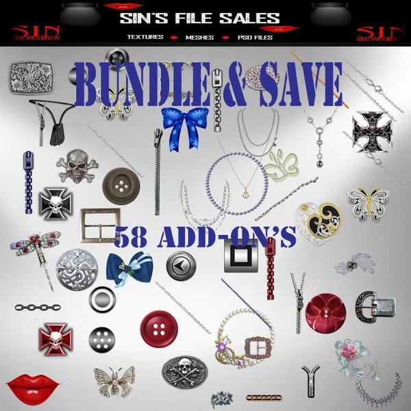 Add On Bundle *Bundle & Save* 58 Files