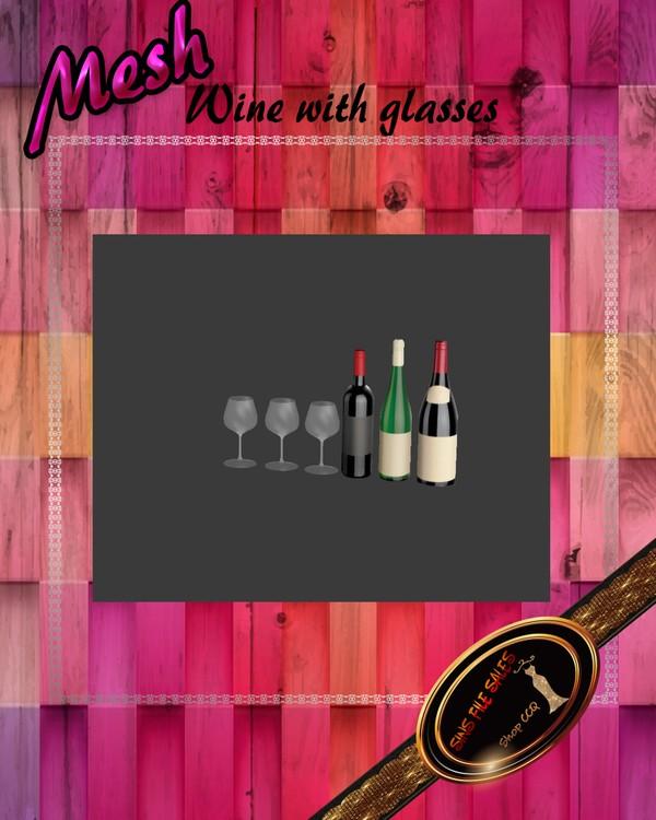 •Wine Set mesh•CHKN