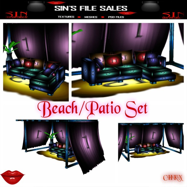 Beach/ Patio Set *Mesh