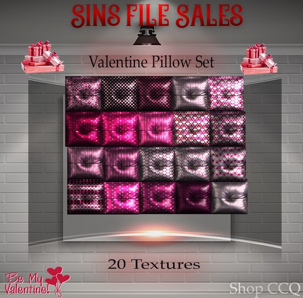 Valentine♥Pillow Set