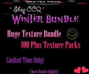 Winter Texture Pack Bundle ❄ Over 100 Plus Texture Packs