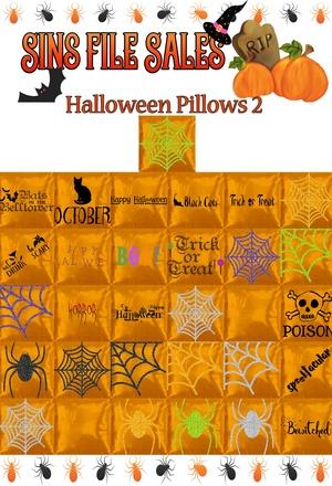 Halloween Pillows 2
